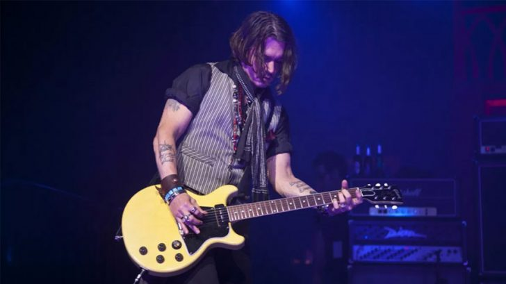 johnny depp gitar